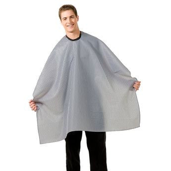 Betty Dain Seersucker Barber Cloth Cape 206