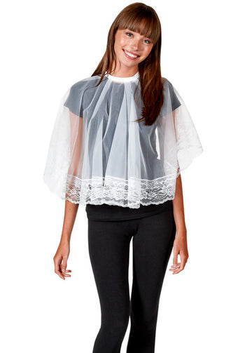 Betty Dain Will O' Wisp Shortie Cape - 108T