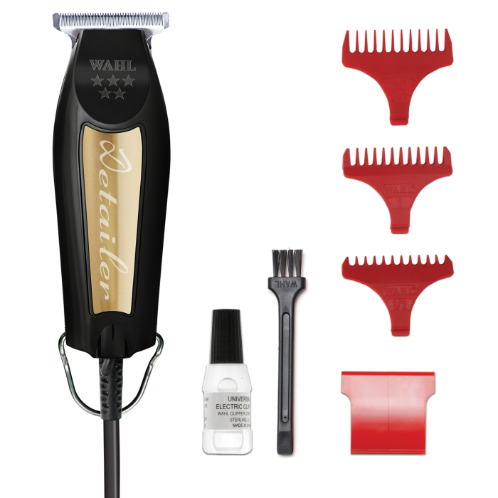 Wahl Black and Gold Corded 5-Star Detailer