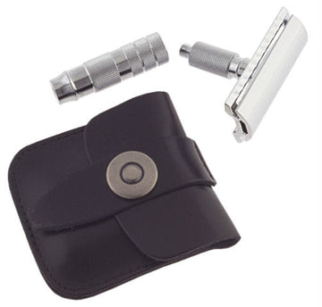 Col. Conk Mini Travel Double Edge Safety Razor