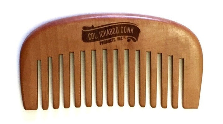 Col. Conk Small Wood Beard Comb