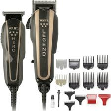 Wahl Legend 5-Star Clipper and Trimmer Barber Combo