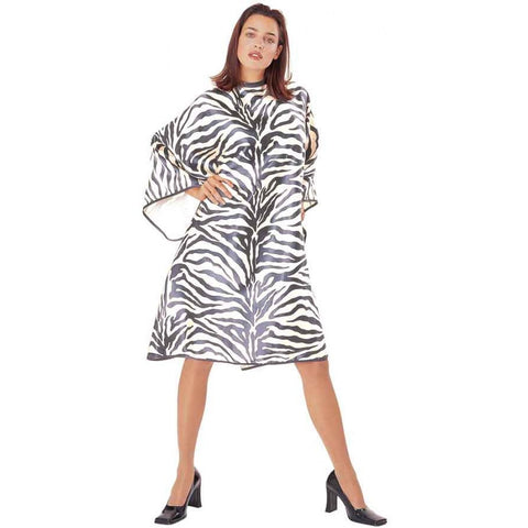 Cricket Haircutting Zebra Cape