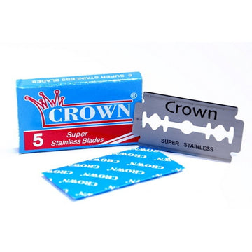 Crown Double Edge Replaceable Blades