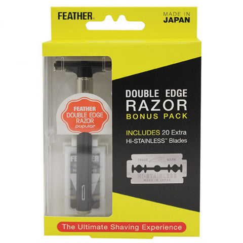 Feather Double Edge Safety Razor