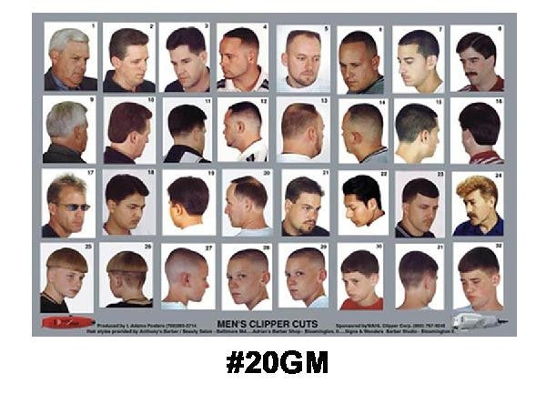barber shop haircut poster haircut poster 20gm alamo barber amp supply 3959