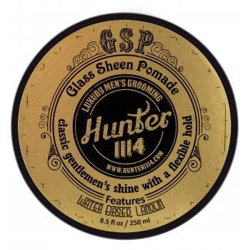 Hunter 1114 Glass Sheen Pomade Classic Gentlemen's Shine With A Flexible Hold
