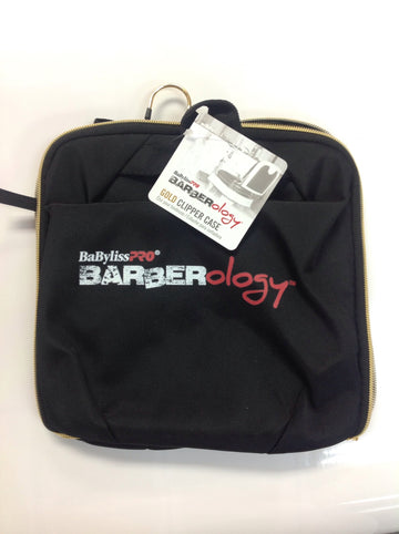 BabylissPRO Barberology Gold Clipper Case