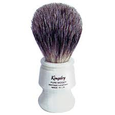 Kingsley Badger Shave Brush 8012