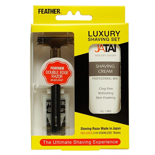 Feather Luxury Shaving Set