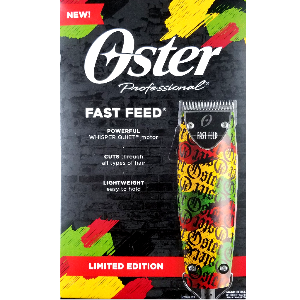 RASTAOLOGY Limited Edition Oster Fast Feed