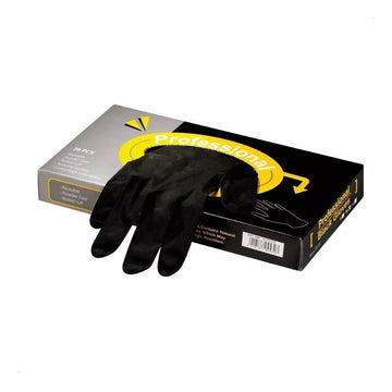 Professional Reusable Black Latex Gloves