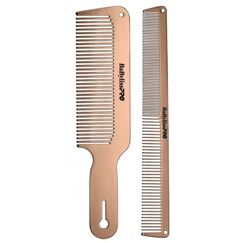 BaBylissPRO Rose FX Metal Comb Set
