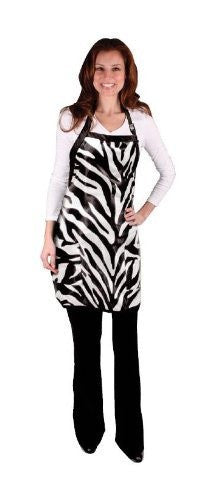 Scalpmaster Salon Chic Zebra Salon Apron
