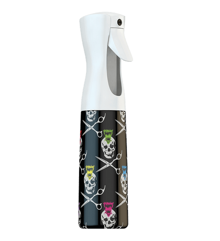 Mister Spray Bottles Skull and Cross Shears
