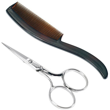 Ultra Mustache Scissors & Comb 4102U