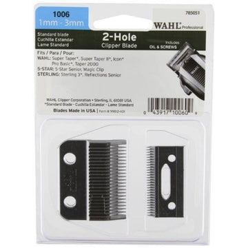 Wahl Standard 2-Hole Clipper Blade #1006