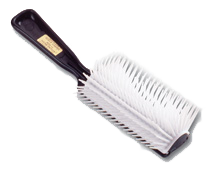William Marvy 1920 White Bristle Hair Brushes
