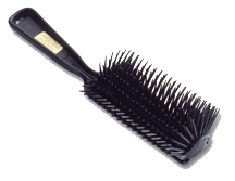 William Marvy 1921 Black Bristle Hair Brushes