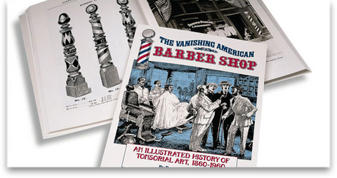 The Vanishing American Barber Shop by Willam Marvy