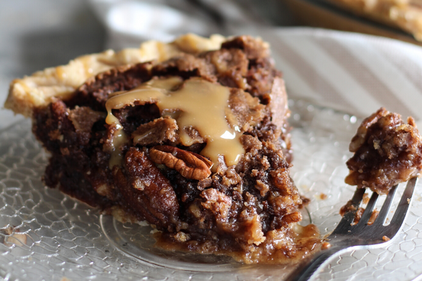 Salted Caramel Turtle Pie - Southern Baked Pie Company