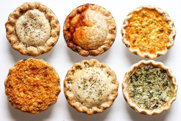 6 Pack Savory Pie <em>Bundle</em> - Southern Baked Pie Company