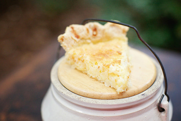 French Coconut Custard <em>Pie</em> - Southern Baked Pie Company