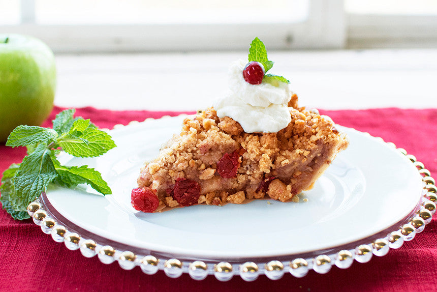 Cranberry Pear Apple Crumble <em>Pie</em> - Southern Baked Pie Company