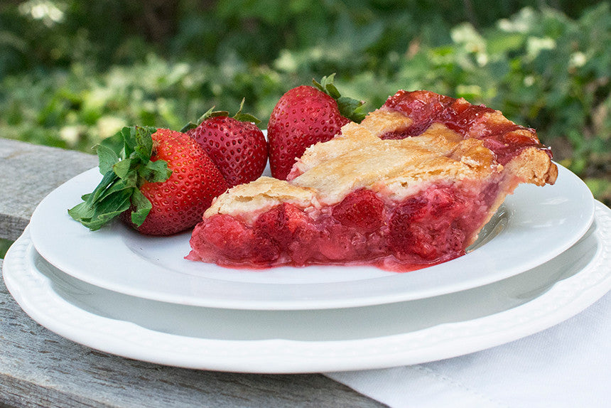 Strawberry <em>Pie</em> - Southern Baked Pie Company