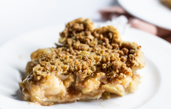 Salted Caramel Dutch Apple <em>Pie</em>