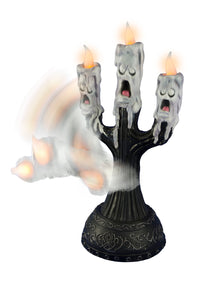 Tekky Toys Animated Ghost Candles with Faces Halloween Prop