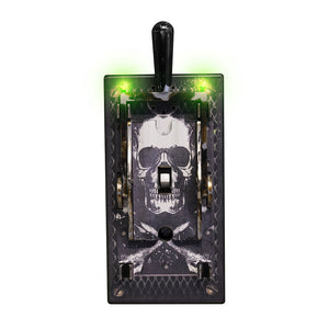 Electric Light Switch Cover - Skull