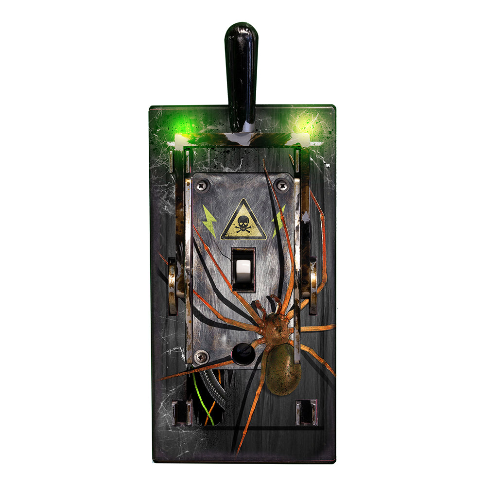 Electric Light Switch Cover - Spider