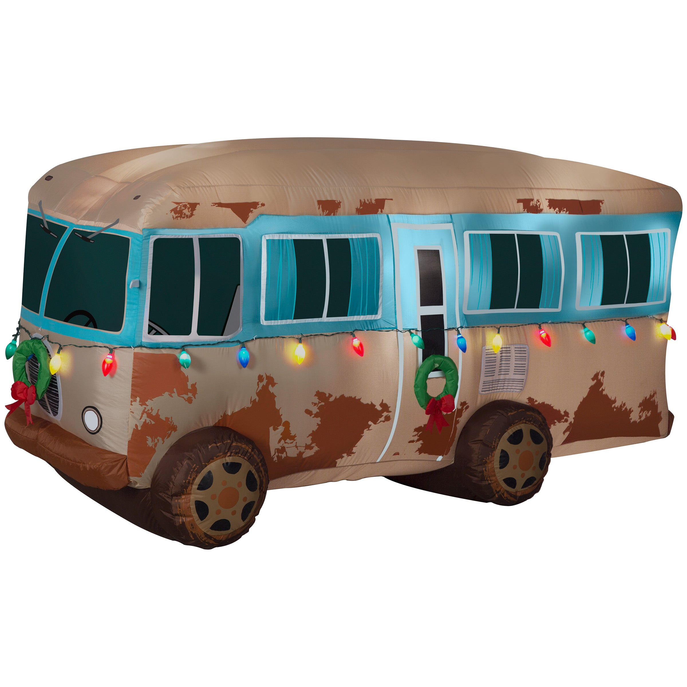 Gemmy Airblown Christmas Inflatable National Lampoon Christmas Vacation RV Scene