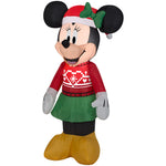 Load image into Gallery viewer, 3.5' Airblown-Minnie in Ugly Sweater-Disney Christmas Inflatable