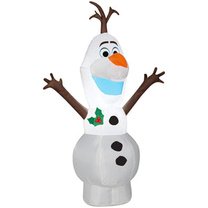 4' Airblown-Standing Olaf Disney Christmas Inflatable
