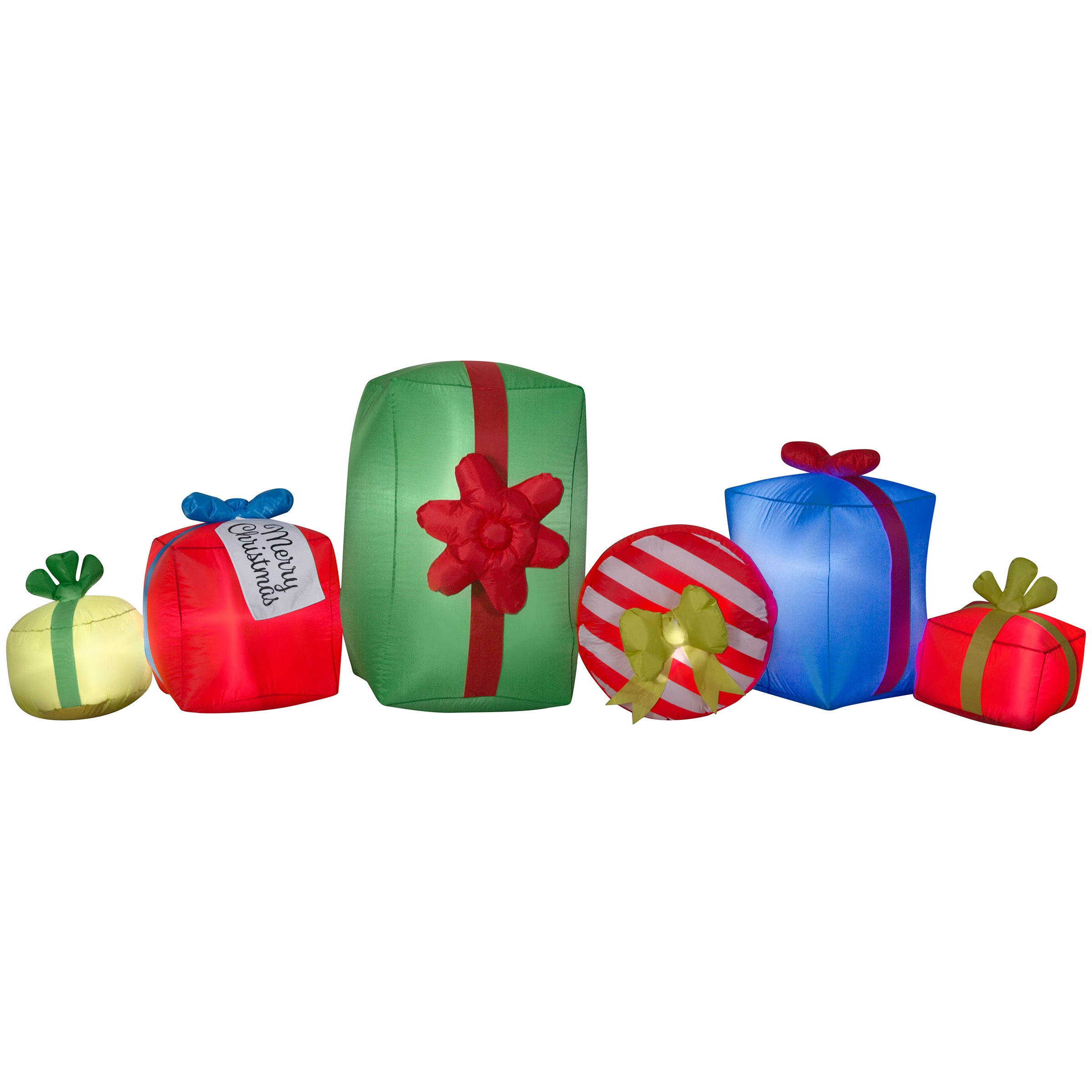 Gemmy Airblown Present Collection Scene Christmas Inflatable