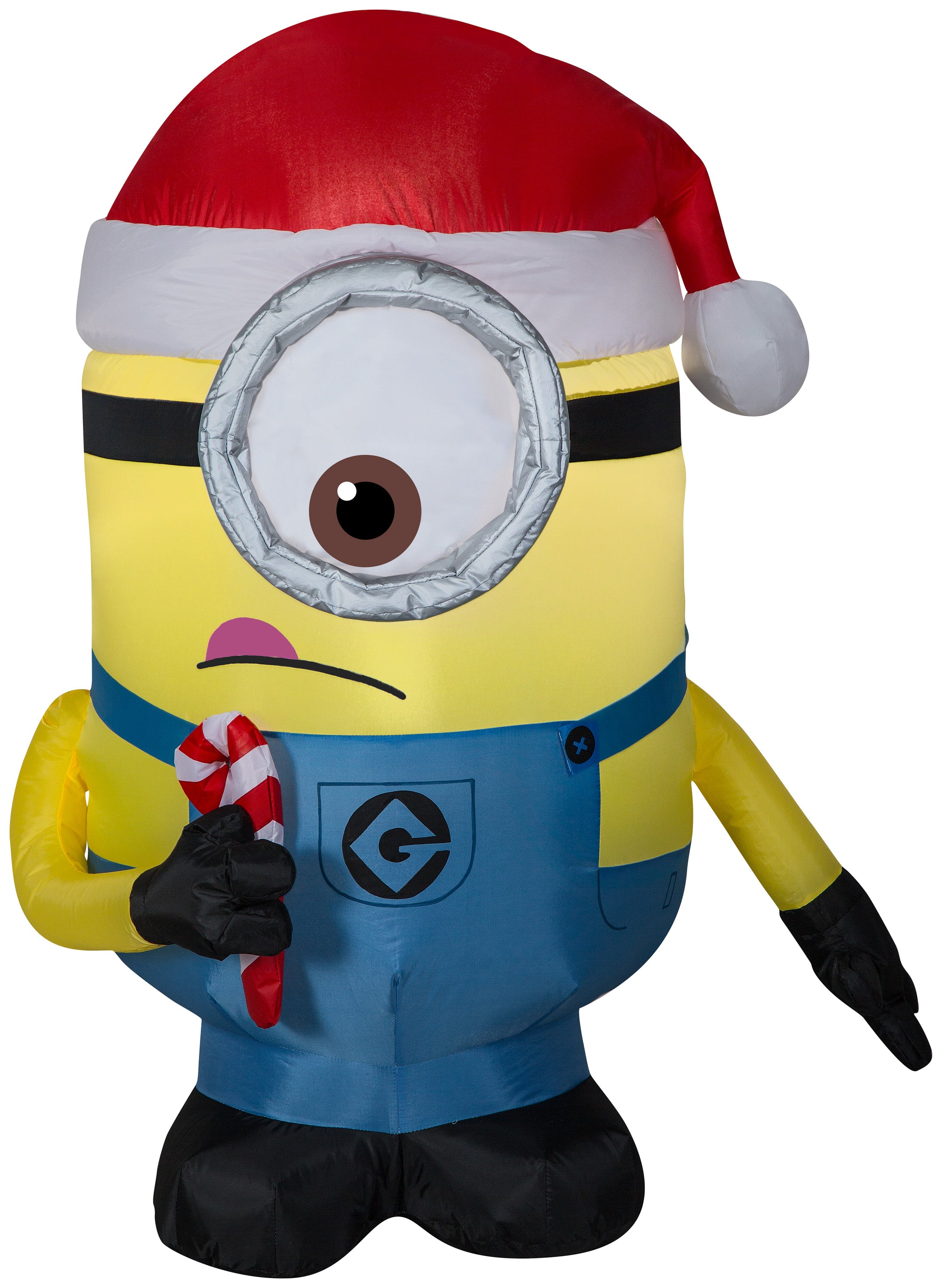 3.5' Airblown Carl w/ Tongue Sticking Out Universal Christmas Inflatable