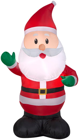 4' Airblown Santa Claus Christmas Inflatable