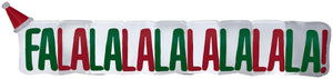 Gemmy 11,5' Airblown Inflatable FaLaLa Sign