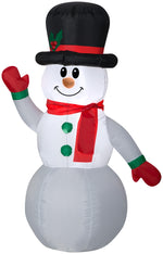 Load image into Gallery viewer, 4' Gemmy Airblown Inflatable Snowman