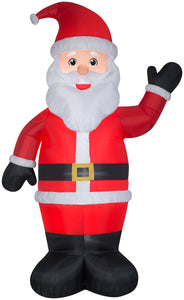10' Gemmy Airblown Inflatable Santa Giant