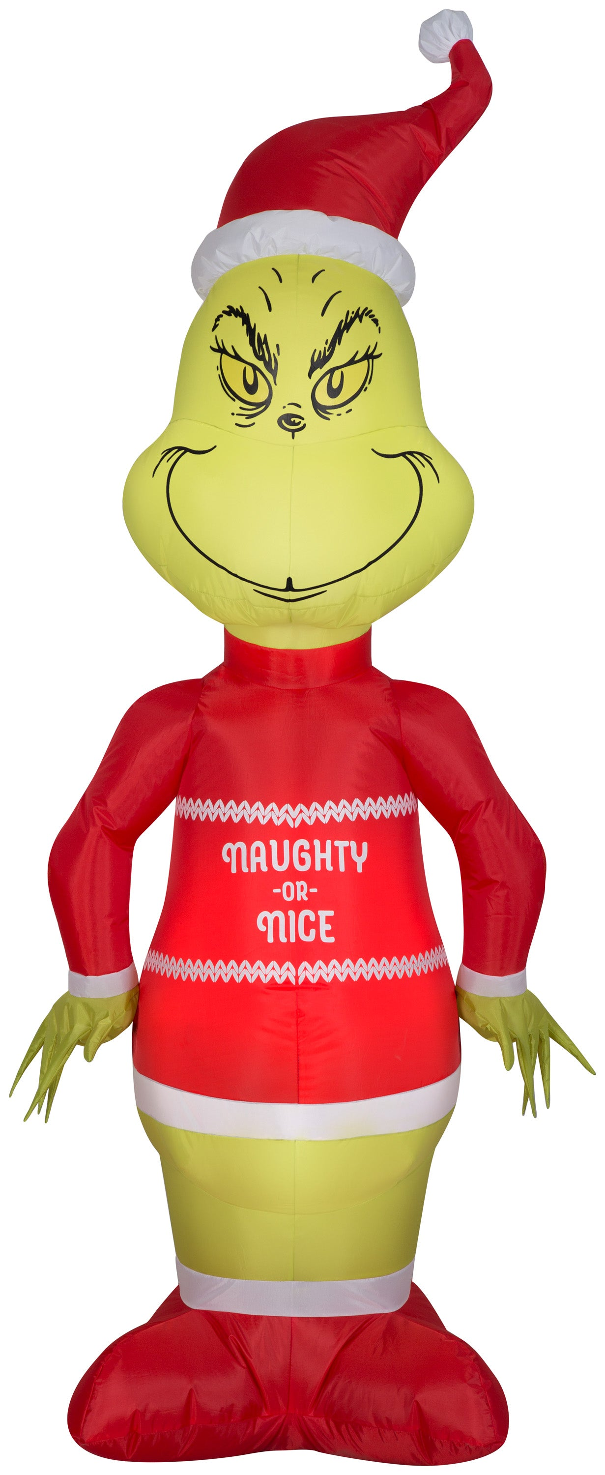 Airblown Inflatable Grinch in Ugly Sweater