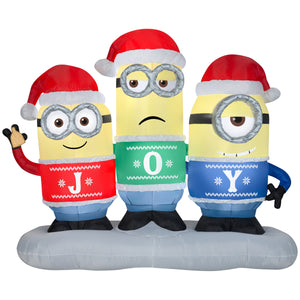 6.5' Airblown Inflatable Minion Joy Collection Scene
