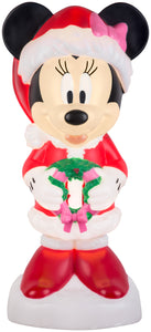 Lighted Blow Mold Outdoor Décor Minnie Mouse Disney