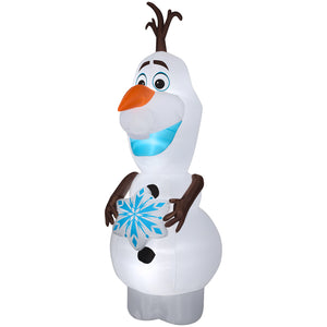 11' Airblown-Olaf w/Snowflake-Giant-Disney Christmas Inflatable