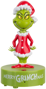 Gemmy Holiday Bobbers Grinch Dr. Seuss, green