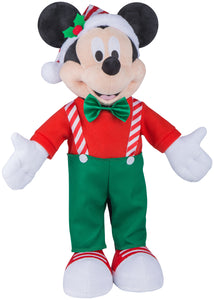 Gemmy Holiday Greeter Mickey as Cute Elf Disney
