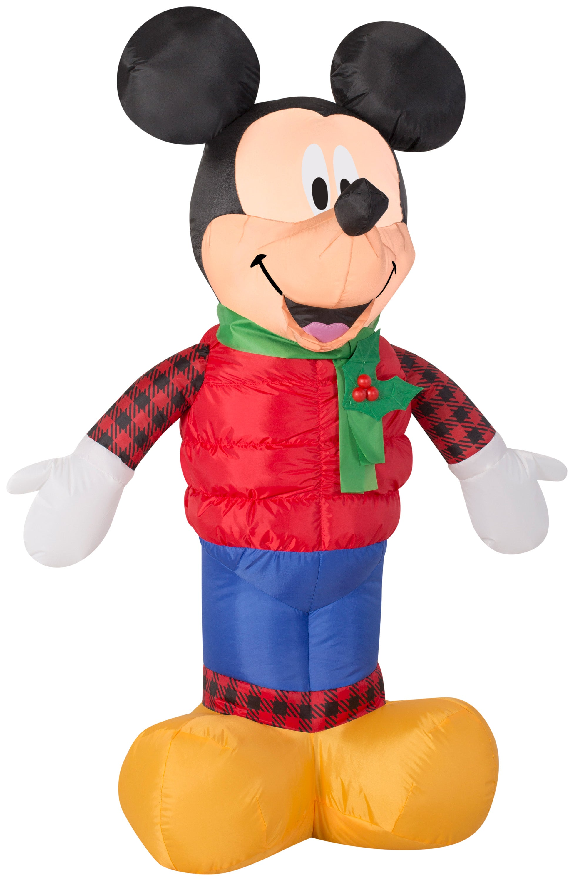 3.5' Airblown Mickey in Christmas Outfit Disney Christmas Inflatable