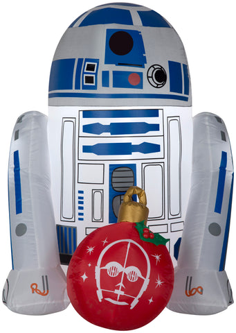 3' Airblown R2D2 w/ Ornament Star Wars Christmas Inflatable